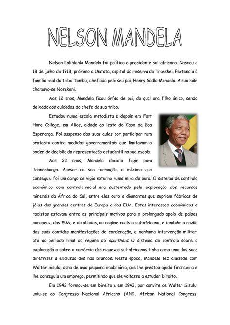 Calaméo   Biografia de Nelson Mandela