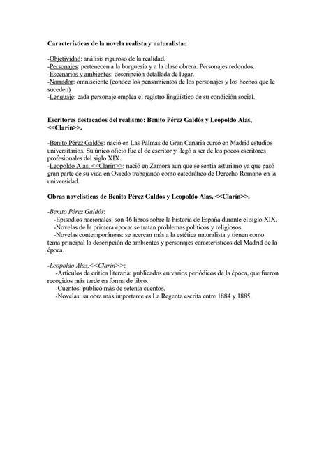 Calaméo   Características de la novela realista y naturalista