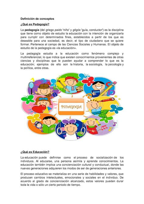 Calaméo   Definición De Conceptos De Pedagogía 2