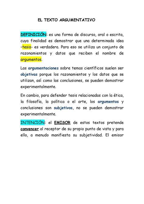 Calaméo   El Texto Argumentativo