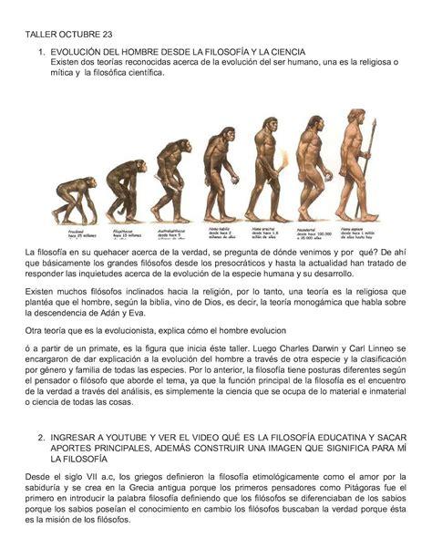 Calaméo   Evolución Del Hombre Desde La Filosofía Y La Ciencia