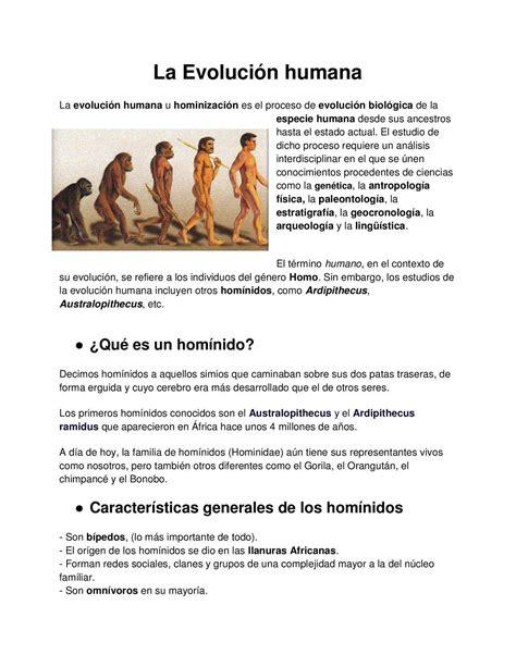 Calaméo   La hominización