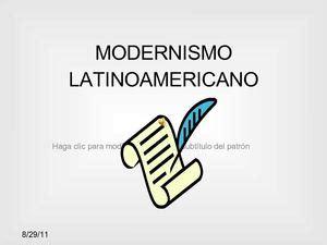 Calaméo   MODERNISMO LATINOAMERICANO