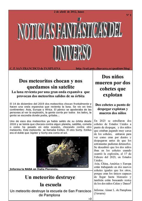 Calaméo   Noticias fantásticas del universo