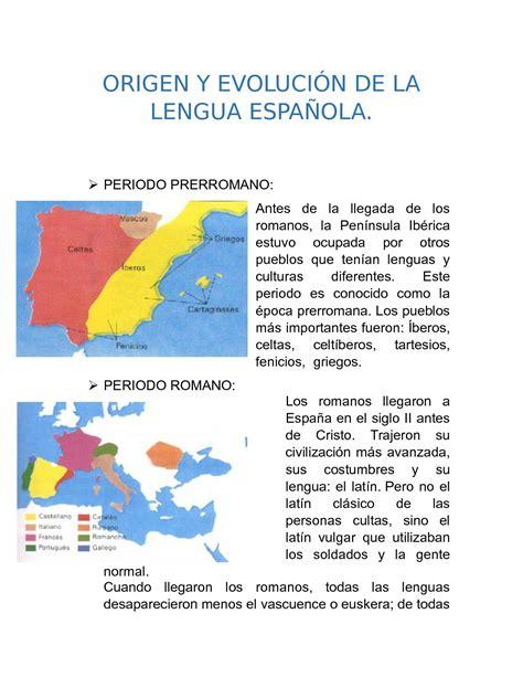 Calaméo   Origen Y Evolución De La Lengua Española ...