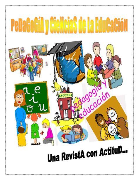 Calaméo   PEDAGOGÍA Y CIENCIAS DE LA EDUCACIÓN
