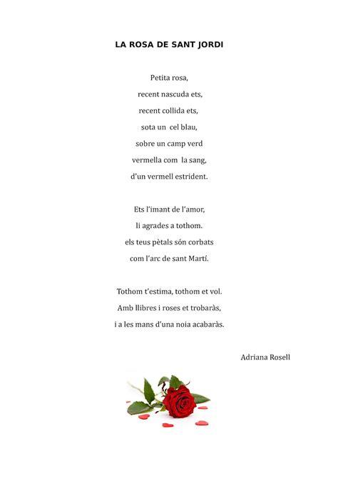 Calaméo   Poemes Sant Jordi 5è B
