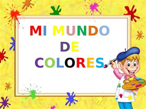Calaméo   Proyecto Mi Mundo De Colores