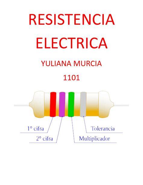 Calaméo   Resistencia Electrica