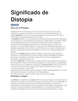 Calaméo   Significado De Distopía