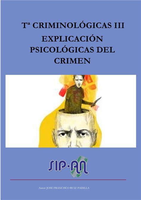 Calaméo   Teorías Criminológicas Iii Explicación ...
