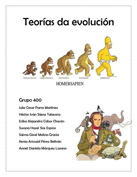 Calaméo   Teorias de la evolucion