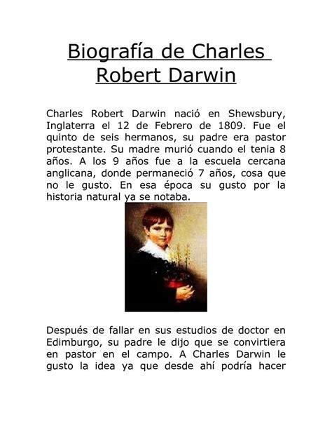 Calaméo   Vida y Biografia de Charles Robert Darwin