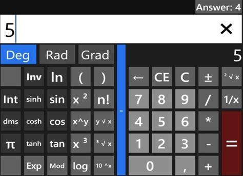 Calc4Win: Windows 8 Calculator App