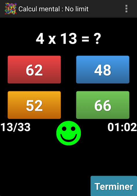 Calcul mental – Applications Android sur Google Play