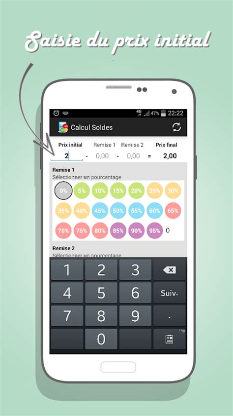 Calcul Soldes – Applications Android sur Google Play