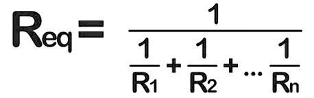 Calculadora de 3 resistencias en paralelo: conexión y fórmula
