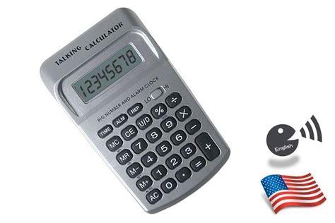 Calculadora Parlante, RELOJ en Ingles , reloj ciegos ...