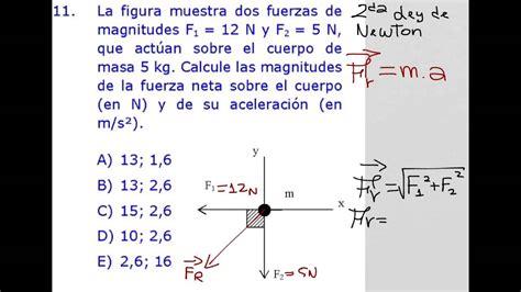 Calcular aceleración y fuerza resultante a partir de ...