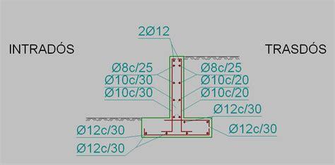 Calcular el muro de contención de un terraplén de 1,1 m de ...