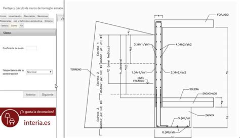 Cálculo de muro de sótano de hormigón || e struc   YouTube