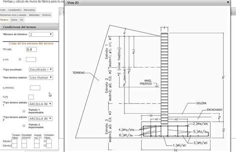 Cálculo de muros de contención de ladrillo | Muro de ...