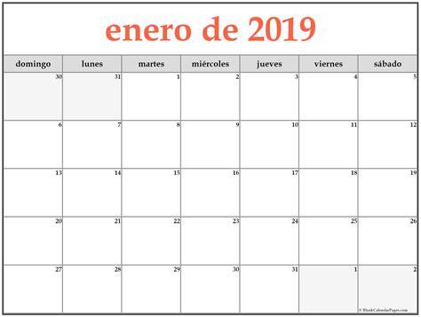 Calendario 2019 Para Imprimir   SEONegativo.com