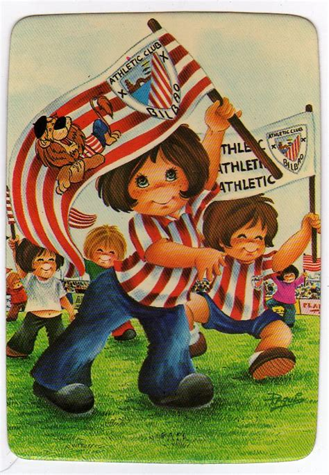 Calendario bolsillo de futbol Athletic Bilbao 1978 01