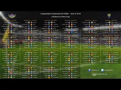 Calendario completo de la primera etapa de la Serie A 2018 ...
