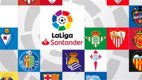 Calendario completo de LaLiga Santander 2019 20