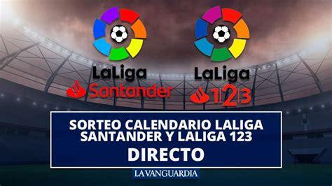 Calendario de LaLiga Santander 2019, en directo