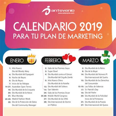 Calendario Dias Internacionales