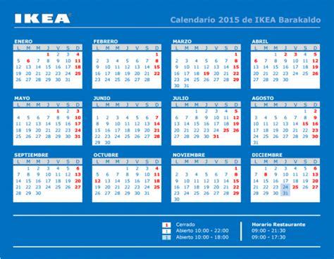 Calendario Ikea Barakaldo 2015: teléfono, horario, cómo llegar