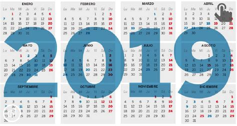 Calendario Laboral 2019 – UGT Bankia