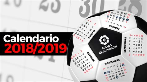 Calendario Liga Santander 2018   19   Resultados de ...