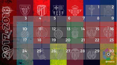 Calendario Liga Santander 2019   2020   Primera División ...