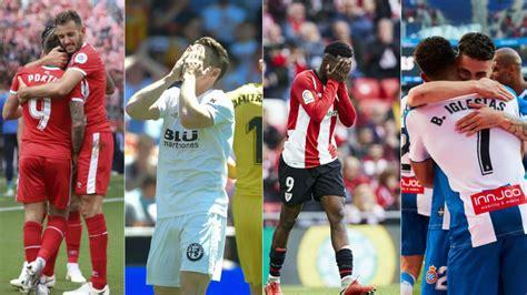 Calendario Liga Santander: Jornada 37 de primera división ...
