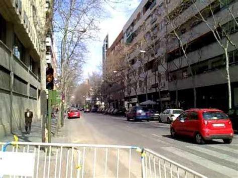 Calle General Moscardo, Madrid.   YouTube