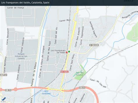 Callejero de Les Franqueses Del Valles | Plano y mapa ...