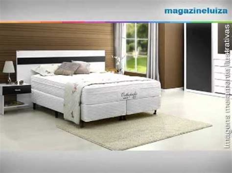 Cama Box Queen Size Inducol   YouTube