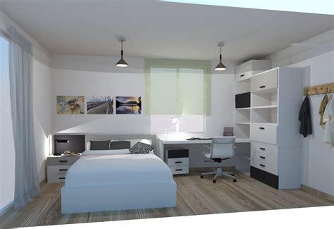 Cama de 135 dormitorio juvenil Lagrama | Digar Kiona. Tu ...