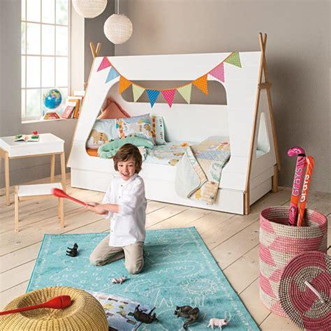Cama infantil individual con forma de tienda de campaña ...