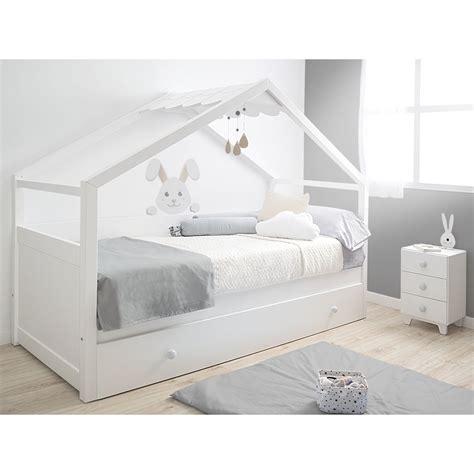 Cama nido Casita blanca   Fabricado en España
