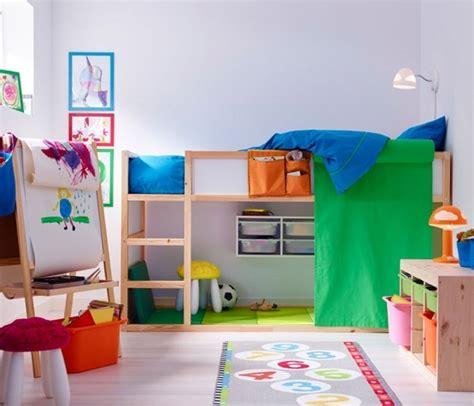 Cama reversible para niños, KURA de Ikea   Mamidecora.com