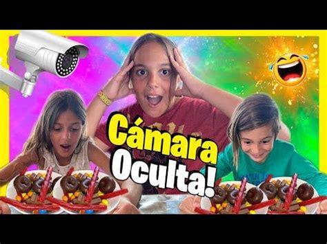 CAMARA OCULTA  CHOCOLATE CHALLENGE a MIS HERMANOS  ...