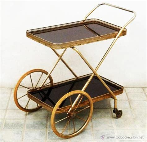 Camarera dorada antigua vintage diseño plegable   Vendido ...