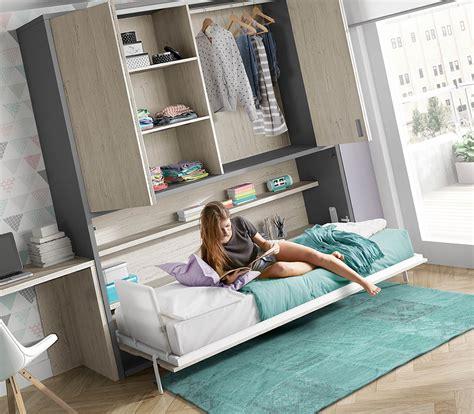 Camas Abatibles   Dormitorio juvenil cama abatible