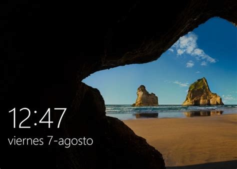 Cambia la imagen de la pantalla de bloqueo de tu Windows 10