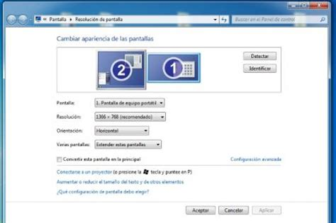 Cambia la resolución de pantalla para Windows XP, 7 y ...