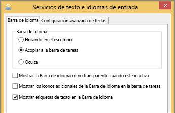 Cambiar de idioma mediante la Barra de idioma   Soporte de ...